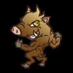 猪・亥のイラスト