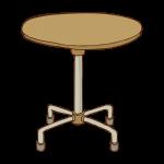 サイド丸テーブル