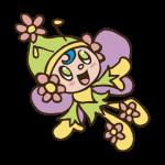 花の妖精のイラスト