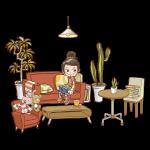 インテリア家具・雑貨のイラスト