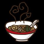 食べ物(ラーメン)のイラスト