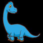 ブラキオサウルスのイラスト