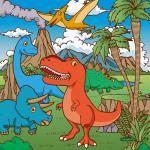 恐竜のイラスト(アイキャッチ)